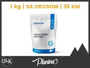 MYPROTEIN Impact Whey Protein 1kg sa okusom
