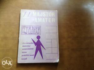 Knjiga MAJSTOR AMATER