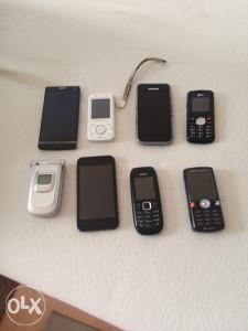 Razni mobiteli