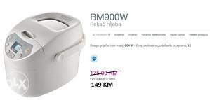 GORENJE pekač hljeba BM900W