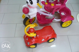 Guralica moja prva vožnja crvena dječija