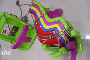 Ljulja ljuljačka za djecu swing 2 crvena