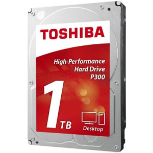 "Toshiba HDD desktop P300 3.5"" 1TB 7200RPM 64MB"