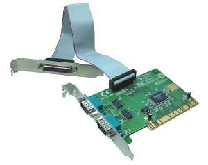 PCI to 2-RS232/1 PARALELNI