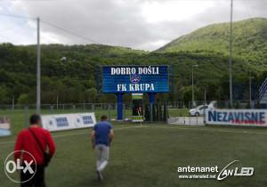 SPORTSKI SEMAFOR LED REKLAMA DISPLEJ BILBORD STADION