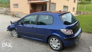 Peugeot 307 2.0hdi 100kw 2004 havarisan/udaren