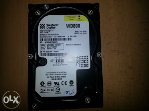 Hard disk HDD 80 GB Western Digital ATA