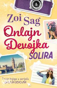 Knjiga: Onlajn Devojka solira, pisac: Zoi Sag, Književnost, Romani, Ljubavni