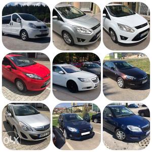 Rent a Car - Iznajmljivanje Putničkih i Kombi vozila
