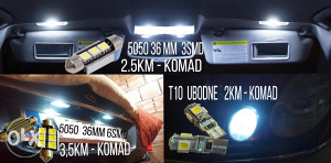 LED 5050 36MM 6 SMD  NE PRIJAVLJUJU GRESKU