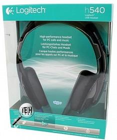 Logitech H540 USB Headset slusalice