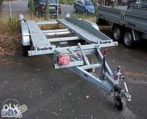 Prikolica za prevoz vozila 2,5t- moze zamjena